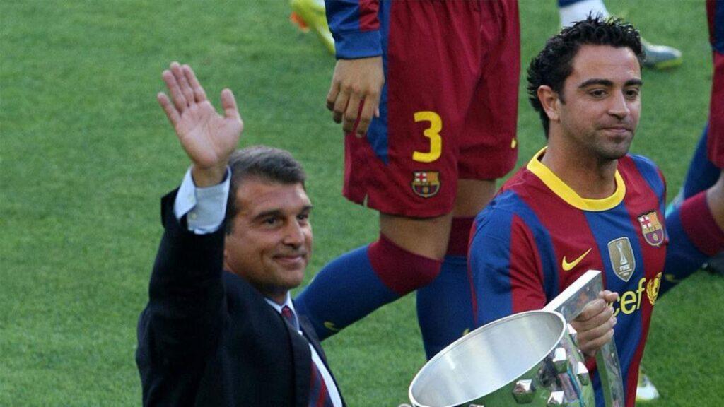 Xaviden Barcelona ve Laporta açıklaması
